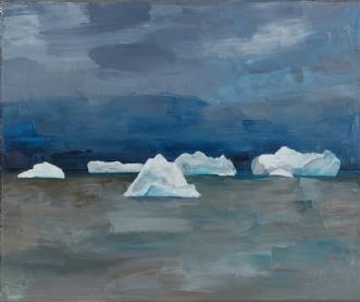 Greenland by Katarina Nielsen | maleri