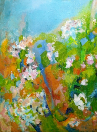 Forår by Margarita Katchan | maleri