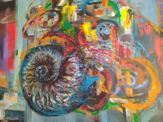 Begyndelser  by Margarita Katchan | maleri