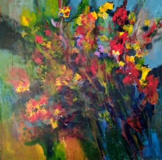 Buket by Margarita Katchan | maleri