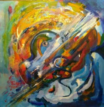 Musik, Brams by Margarita Katchan | maleri