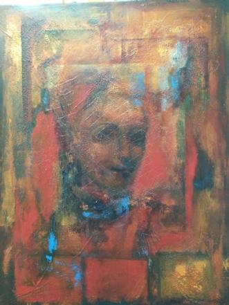 'Fra gammelt album' by Margarita Katchan | maleri