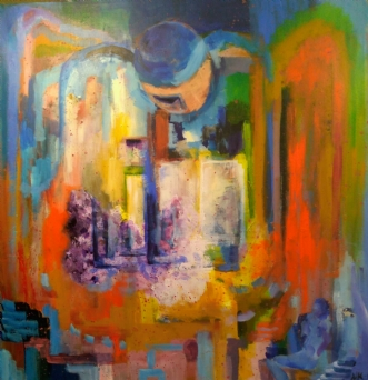 Beskyttelse  by Margarita Katchan | maleri
