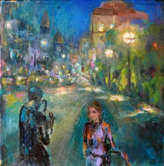 Aften  by Margarita Katchan | maleri