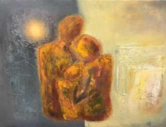 Familie by Margarita Katchan | maleri