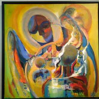 Langs vejen by Margarita Katchan | maleri