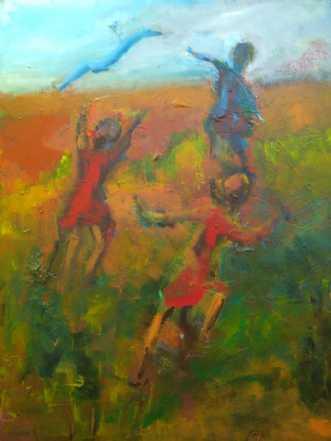 Glæden by Margarita Katchan | maleri
