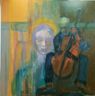 Musa by Margarita Katchan | maleri