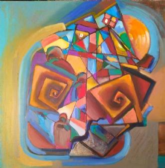 Vejen by Margarita Katchan | maleri