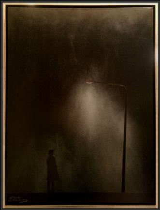 Nobody Home by Gert Wiberg Ramsing | maleri