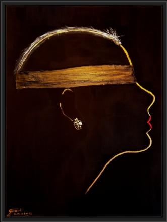 Blind by Gert Wiberg Ramsing | maleri
