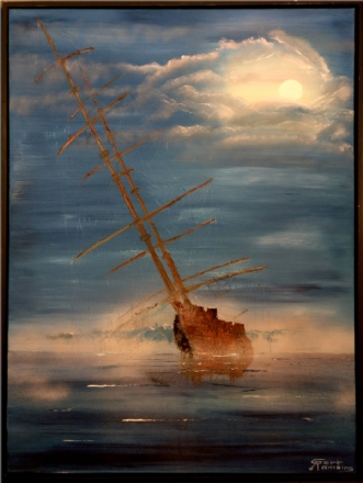 Abandoned by Gert Wiberg Ramsing | maleri