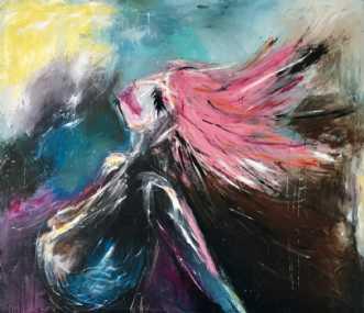 Styrke by Kira Lykke | maleri