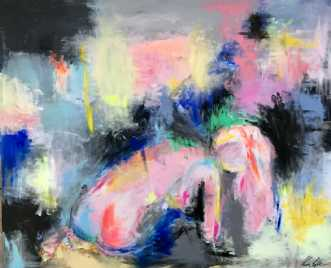 Overvejelse by Kira Lykke | maleri