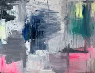 Storm by Kira Lykke | maleri