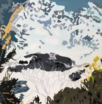 Cinque Terre by Vibeke Ringholm | maleri
