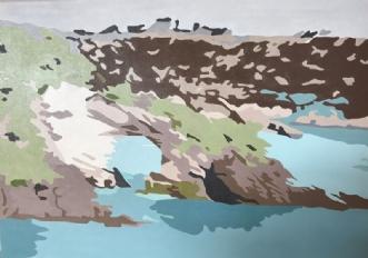 Gargano II by Vibeke Ringholm | maleri