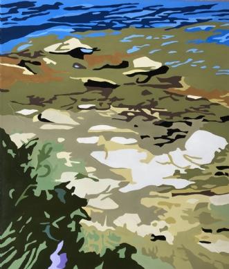 Gotland - Sten i vandafVibeke Ringholm