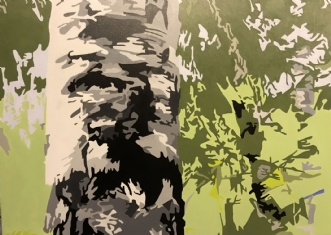 Skov by Vibeke Ringholm | maleri