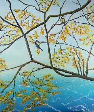 Forårsfornemmelser by Cecilia Florvall | maleri
