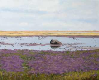 Læsø - Rønnerne by SteenR (Rasmussen) | maleri