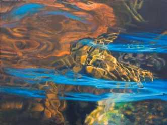 Brown and blue waterreflectionsafSteenR (Rasmussen)
