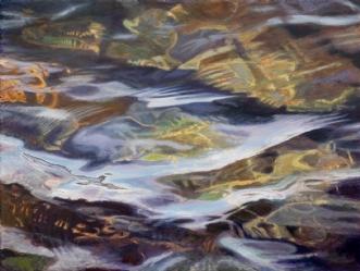 WATERREFLECTIONS IN.. by SteenR (Rasmussen) | maleri