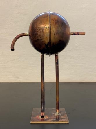 Kobberklode by Claus Steen Rasmussen | skulptur