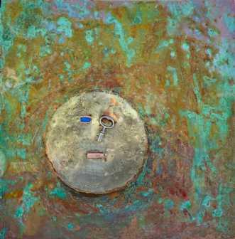 Grøn maske by Claus Steen Rasmussen | diverse