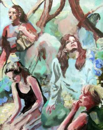 Nyd naturen by Vita Bente Pedersen | maleri