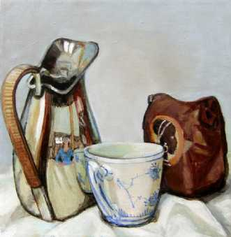 Spejlkande by Vita Bente Pedersen | maleri
