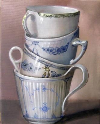 De gamle kaffekoppe.. by Vita Bente Pedersen | diverse