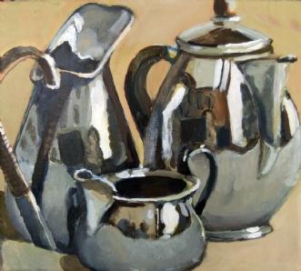 blank by Vita Bente Pedersen | maleri