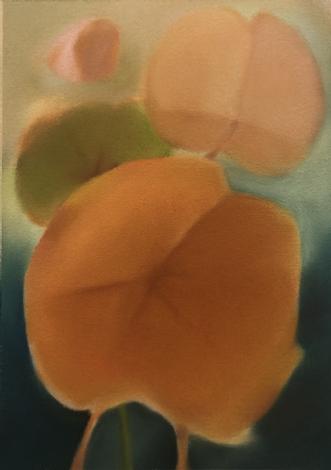 Pink Leaf by Kristin Holm Dybvig | tegning