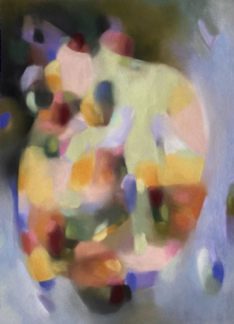 Colour Poetry 2 by Kristin Holm Dybvig | tegning