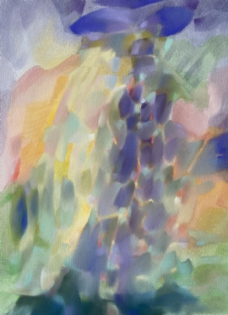 Colour Poetry 3 by Kristin Holm Dybvig | tegning