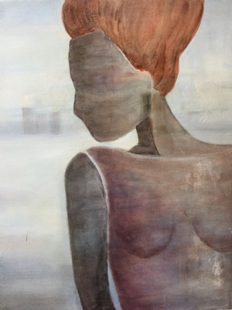 Isdronningen by Pernille Starnø | maleri