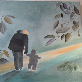 mor og barnafPernille Starnø