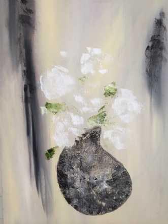 Vasen by Pernille Starnø | maleri