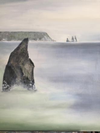 ISLAND HAVET by Pernille Starnø | maleri