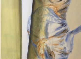 Gravid pige by Pernille Starnø | maleri