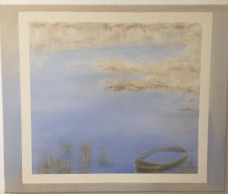 Farum sø by Pernille Starnø | maleri