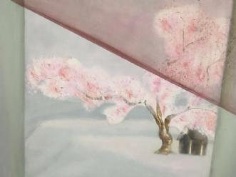 kirsebærtræet by Pernille Starnø | maleri