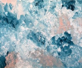 My Ocean by Lone Maj Nørreløkke | maleri