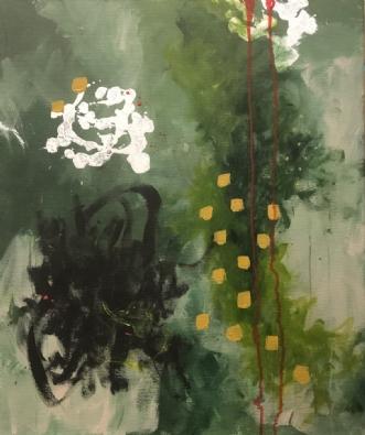 Den røde vej by Lone Maj Nørreløkke | maleri