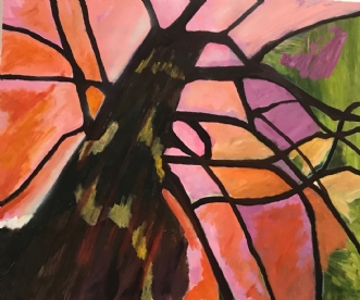 Livets træ by Lis Severin | maleri