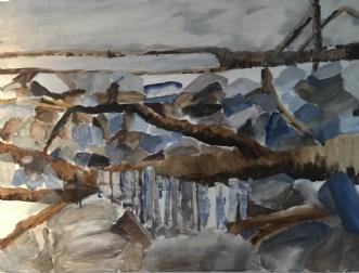 Efterår by Lis Severin | maleri