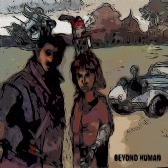 Beyond human by Caroline Scheibel | tegning
