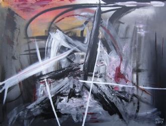 Derefter by Merete Bilde Toft Movang | maleri
