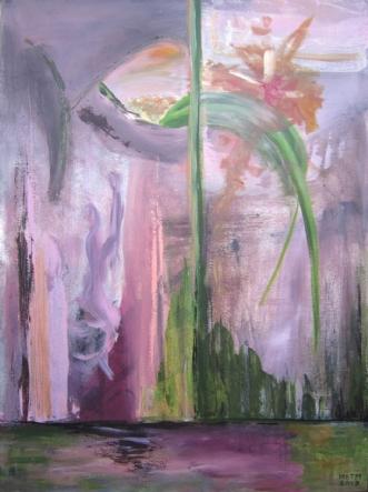 Genopståelse by Merete Bilde Toft Movang | maleri